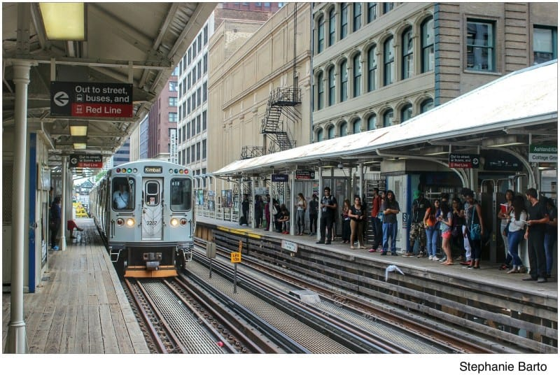 The State & Lake 'L' station will be wheelchair accessible