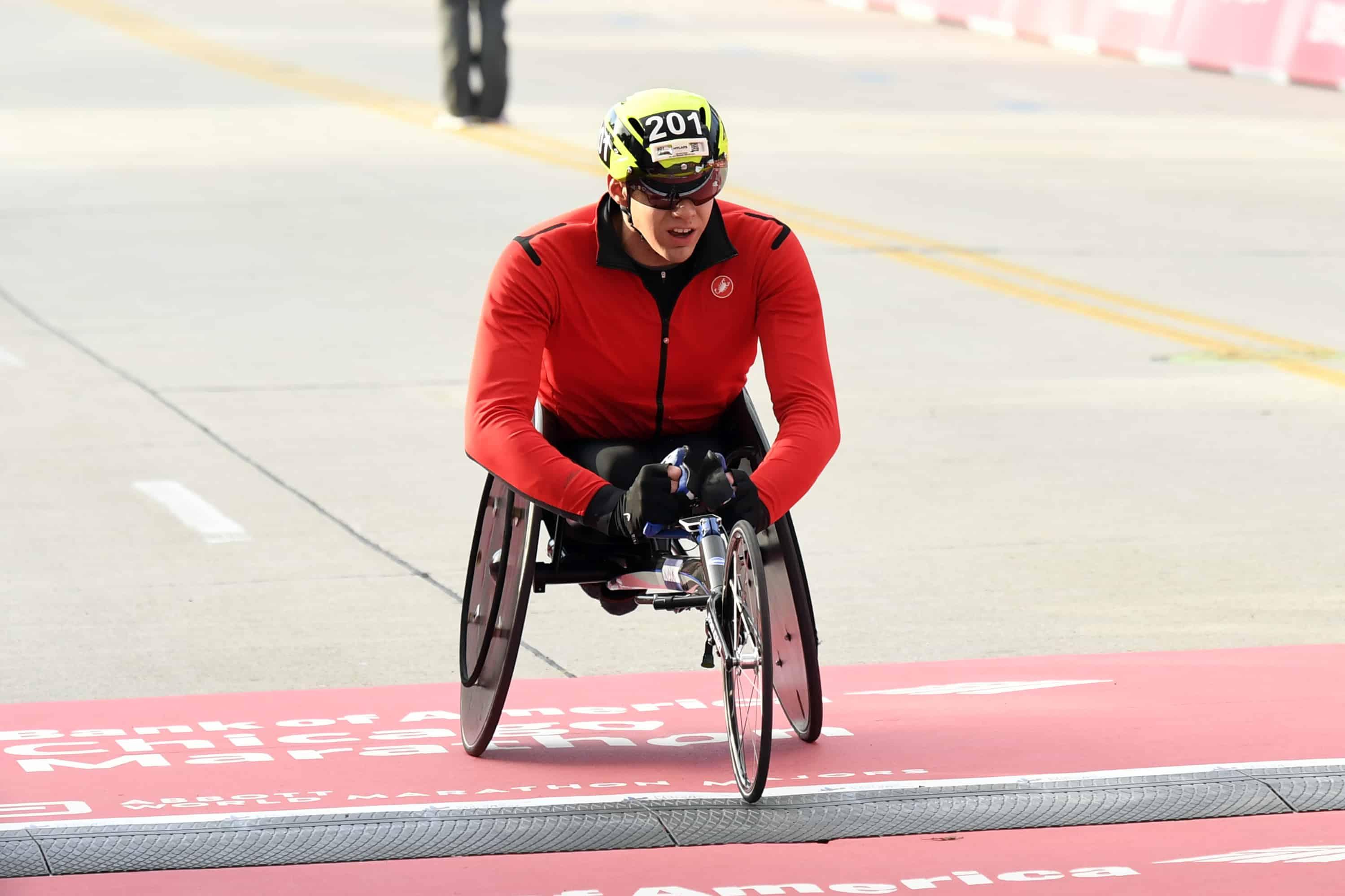 Illinois Paralympians Shine at Chicago Wheelchair Marathon