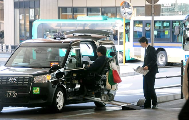 Study shows 27% of wheelchair users get rejected by universal design taxis in Japan