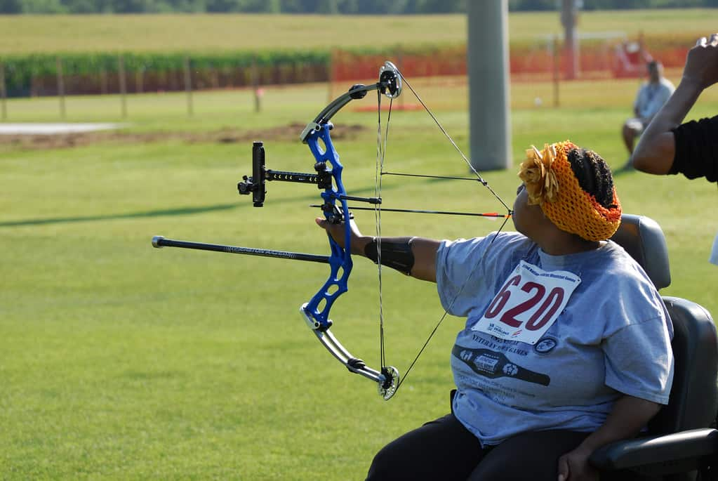 Inspiring story of a Gold medalist Chicago wheelchair archer